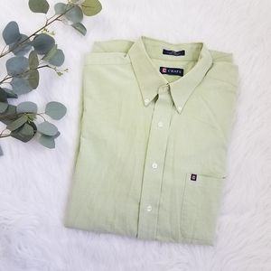 CHAPS Mens Long Sleeve 17-17.5 34|35 Dress Shirt